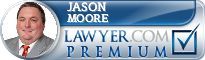 Jason Moore  Lawyer Badge