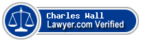 Charles Edward Wall  Lawyer Badge