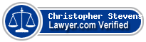 Christopher Williams Stevens  Lawyer Badge