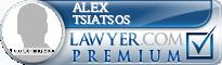 Alex Arthur Tsiatsos  Lawyer Badge