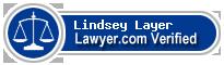 Lindsey Ann Layer  Lawyer Badge