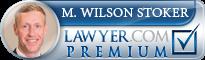 M. Wilson Stoker  Lawyer Badge