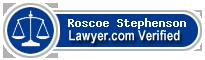 Roscoe Bolar Stephenson  Lawyer Badge