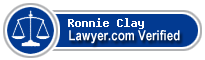 Ronnie Lee Clay  Lawyer Badge