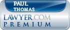 Paul Everette Thomas  Lawyer Badge