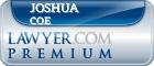 Joshua James Coe  Lawyer Badge