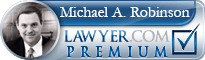 Michael Andrew Robinson  Lawyer Badge
