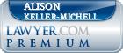 Alison Marie Keller-Micheli  Lawyer Badge