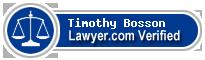 Timothy Paul Bosson  Lawyer Badge