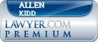 Allen Lee Kidd  Lawyer Badge
