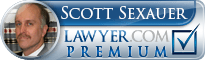 Scott R. Sexauer  Lawyer Badge