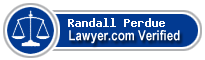 Randall Tyree Perdue  Lawyer Badge