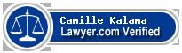 Camille Kamalie Kalama  Lawyer Badge