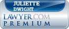 Juliette K. Sheehan Dwight  Lawyer Badge