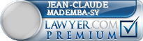 Jean-Claude Cheikh Mademba-Sy  Lawyer Badge