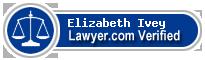 Elizabeth A. Ivey  Lawyer Badge