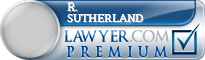 R. Clay Sutherland  Lawyer Badge