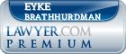 Eyke Leinani Brathhurdman  Lawyer Badge
