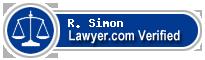 R. Scott Simon  Lawyer Badge