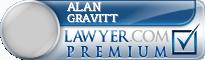 Alan Trent Gravitt  Lawyer Badge