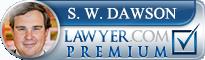S. W. Dawson  Lawyer Badge