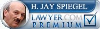 H. Jay Spiegel  Lawyer Badge