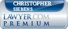 Christopher Joseph Siebens  Lawyer Badge