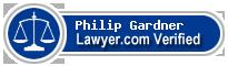 Philip G. Gardner  Lawyer Badge