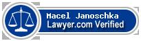 Macel Hubbard Janoschka  Lawyer Badge