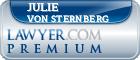 Julie Anna Von Sternberg  Lawyer Badge