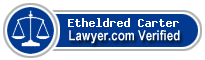 Etheldred B. Carter  Lawyer Badge