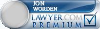 Jon Marsh Worden  Lawyer Badge
