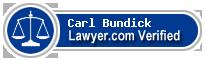 Carl Herman Bundick  Lawyer Badge