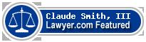 Claude S. Smith, III  Lawyer Badge