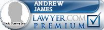 Andrew James  Lawyer Badge