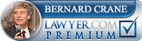 Bernard F. Crane  Lawyer Badge