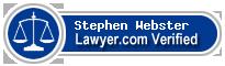 Stephen W. Webster  Lawyer Badge