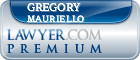 Gregory V. Mauriello  Lawyer Badge