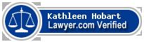 Kathleen B. Hobart  Lawyer Badge