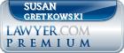 Susan M. Gretkowski  Lawyer Badge