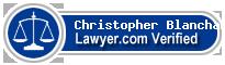 Christopher Warren Blanchard  Lawyer Badge