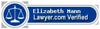 Elizabeth Davis Mann  Lawyer Badge