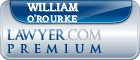 William A. O'Rourke  Lawyer Badge