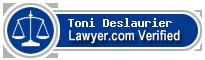 Toni Lee Deslaurier  Lawyer Badge
