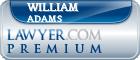 William W. Adams  Lawyer Badge