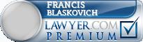 Francis E. Blaskovich  Lawyer Badge