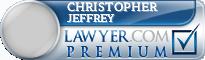 Christopher E. Jeffrey  Lawyer Badge