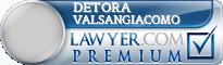 Detora Valsangiacomo  Lawyer Badge