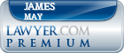 James C May  Lawyer Badge