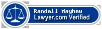 Randall F. Mayhew  Lawyer Badge